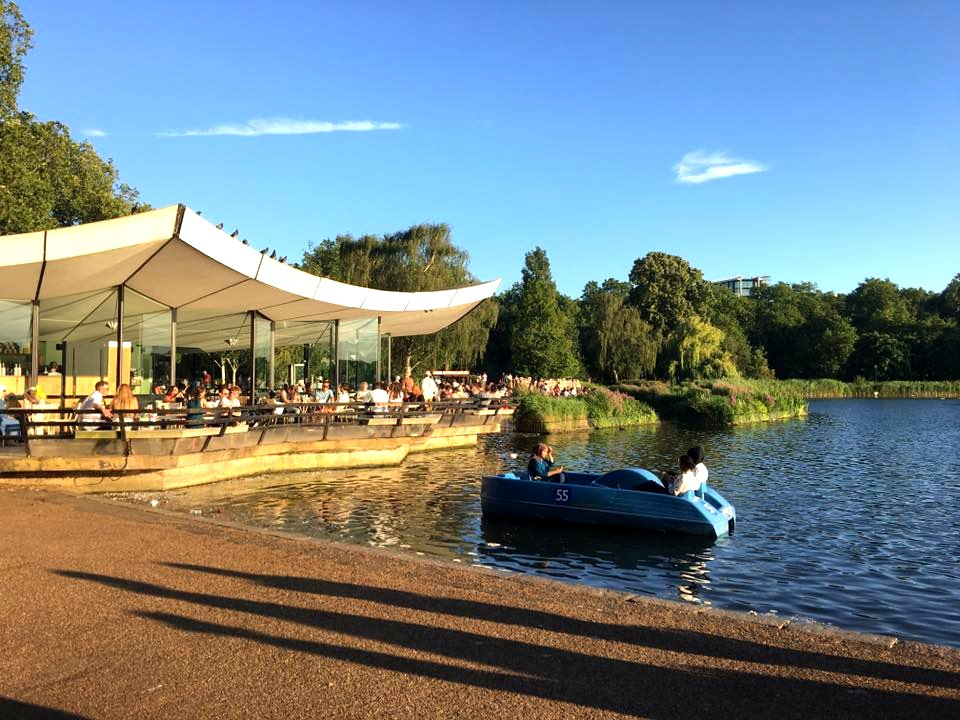 Serpentine Cafe Hyde Park London