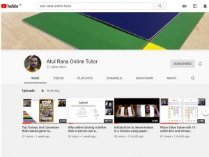 Atul Rana Online Tutor YouTube Channel image