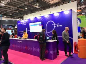 Soundtrap stand at BETT 2019